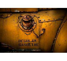 Regular Gasoline Photographic Print