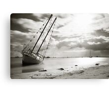 Beached... Canvas Print