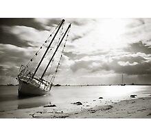 Beached... Photographic Print
