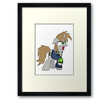 Just Little Pip (Fallout: Equestria) Framed Print