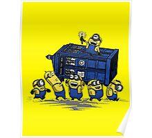 Minions Invented Tardis Poster