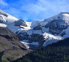 Mt Charlton and Mt Unwin by Charles Kosina