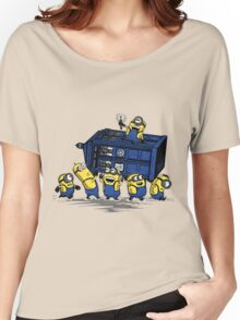 Minions Invented Tardis Women's Relaxed Fit T-Shirt