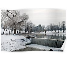 Wintry Day In January 2014 Poster