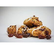 Oatmeal Raisin Cookies Photographic Print