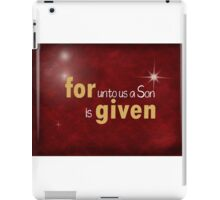 Christmas Verse iPad Case/Skin