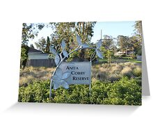 Anita Cobby Reserve, Sydney, New South Wales Greeting Card