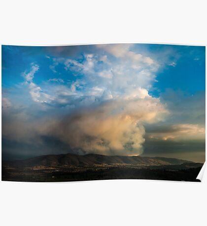 Burning hills Poster