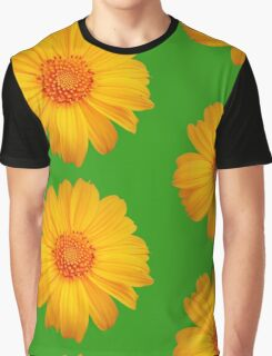 Bright Flower Graphic T-Shirt