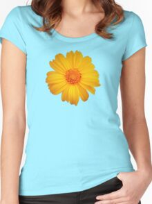 Bright Flower Women's Fitted Scoop T-Shirt