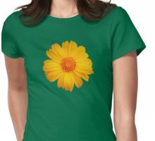 Bright Flower Womens Fitted T-Shirt