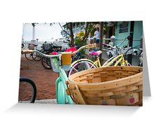 a ride to fragrance  Greeting Card