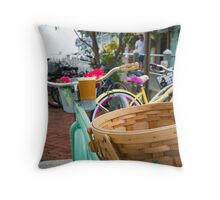 a ride to fragrance  Throw Pillow