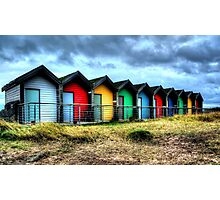 More Beach Huts Photographic Print