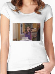 Oh my god, The Peruvian Puff Pepper Women's Fitted Scoop T-Shirt