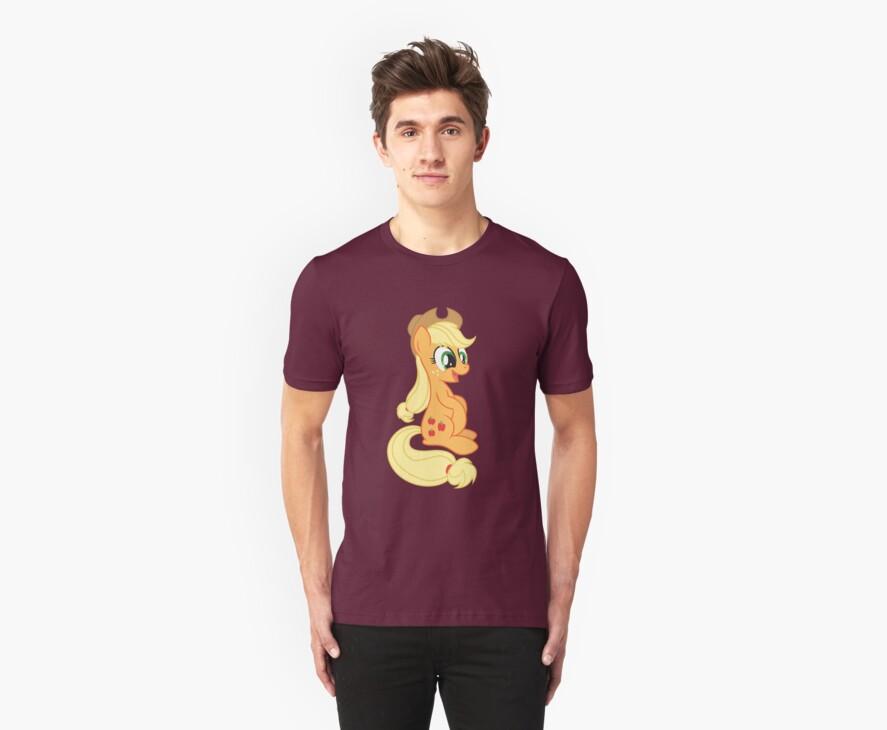 Just Applejack Shirt (My Little Pony: Friendship is Magic) by broniesunite