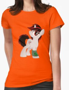 Blackjack Shirt (from the Project Horizons fanfic) Womens Fitted T-Shirt
