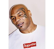 Mike Tyson Supreme Design  Photographic Print