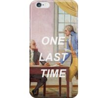 george washington's going home! iPhone Case/Skin
