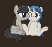Vinyl Scratch and Octavia OTP Shirt (My Little Pony: Friendship is Magic) by broniesunite