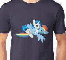 Vinyl Scratch x Rainbow Dash Unisex T-Shirt