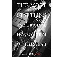 American Mary Evil Dead Style Poster 2 Photographic Print