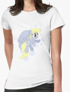 I BUCKING LOVE MUFFINS (My Little Pony: Friendship is Magic) Womens Fitted T-Shirt
