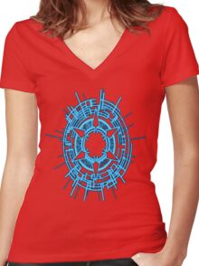 Vanguard Women's Fitted V-Neck T-Shirt
