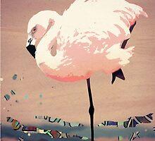 Flamingo Dance by ArtByRuta