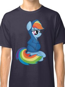 Rainbow Dash: Books are Sexy Classic T-Shirt