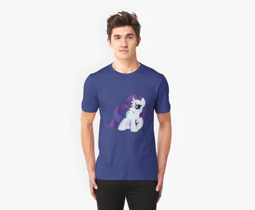 Rarity Tshirt (My Little Pony: Friendship is Magic) by broniesunite