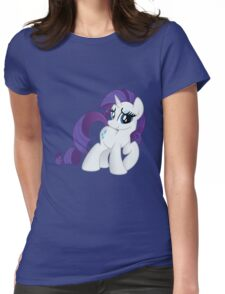 Rarity Tshirt (My Little Pony: Friendship is Magic) Womens Fitted T-Shirt
