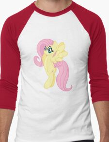 Fluttershy Hoodie (My Little Pony: Friendship is Magic) Men's Baseball ¾ T-Shirt