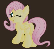 Fluttershy being Cute (from My Little Pony: Friendship is Magic) by broniesunite
