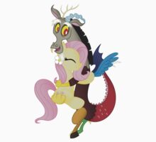 Fluttershy and Discord (My Little Pony: Friendship is Magic) Kids Tee