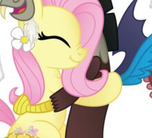 Fluttershy and Discord (My Little Pony: Friendship is Magic) Sticker