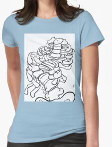scoliosis Womens Fitted T-Shirt