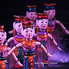 Water Puppets, Vietnam by Geoffrey Higges
