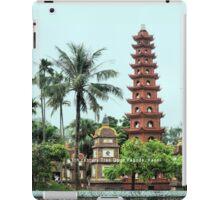 Tran Quoc Pagoda, Hanoi iPad Case/Skin