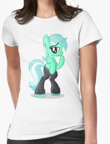 Lyra Hands Shirt (My Little Pony: Friendship is Magic) Womens Fitted T-Shirt