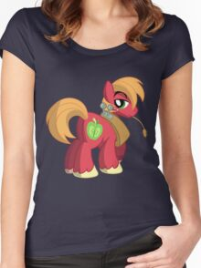 Big Macintosh (My Little Pony: Friendship is Magic) Women's Fitted Scoop T-Shirt