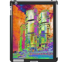 Lippo Center Twin Tower, Hong Kong iPad Case/Skin