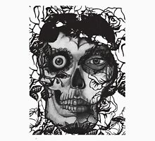 day of the dead, pencil w roses Unisex T-Shirt