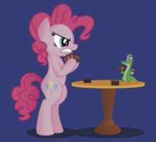 Pinkie Pie and Gummy Play Magic Shirt (My Little Pony: Friendship is Magic) by broniesunite