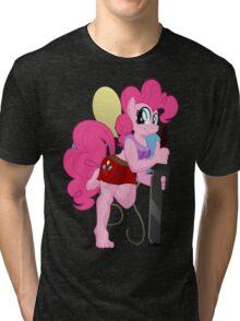 Pinkie Pie Anthro Shirt (My Little Pony: Friendship is Magic) Tri-blend T-Shirt