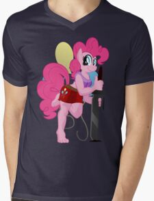 Pinkie Pie Anthro Shirt (My Little Pony: Friendship is Magic) Mens V-Neck T-Shirt