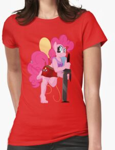 Pinkie Pie Anthro Shirt (My Little Pony: Friendship is Magic) Womens Fitted T-Shirt