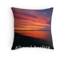 Altered Reality Calendar 1 Front Cover Throw Pillow