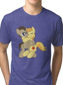 Braeburn x Doctor Whooves Shirt (My Little Pony: Friendship is Magic) Tri-blend T-Shirt