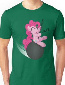 Pinkie Pie and the Wrecking Ball Shirt (My Little Pony: Friendship is Magic) Unisex T-Shirt
